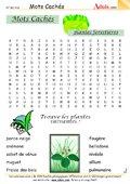 Mots Cachés : Les plantes forestières