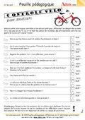 Points de contrôle pour vélos