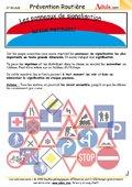 Les panneaux de signalisation (2)