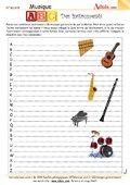 ABC des instruments de musique