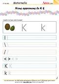 Ecriture - Lettre K