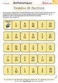 Domino de fractions
