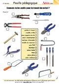 Connais-tu les outils pour travailler le métal ?