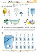 Mesurer avec des litres