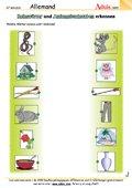 Reimwörter und gleiche Anfangsbuchstaben erkennen
