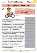 Rouler correctement à vélo