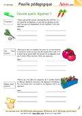 Devine les légumes