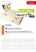 200268 : Devoir technique - Classeur en bois
