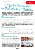 10 Tipps im Fach Werken und Gestalten