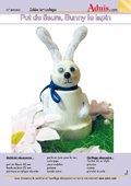 Pot de fleurs, Bunny le lapin