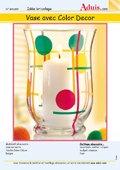 Vase avec Color Décor