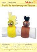 Ronds de serviettes pour Pâques