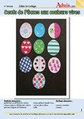 Œufs de Pâques multicolores