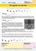 Araignée en perles