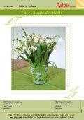"""Vase """"Magie des Fleurs"""""""