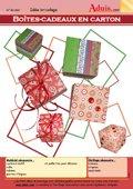 Boîtes-cadeaux en carton