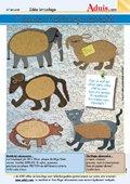 Panneau d'affichage animalier