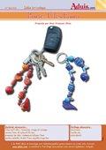 Porte-clés Fimo