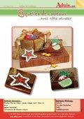 Etiquettes de Noël avec effet pluster