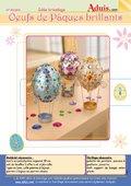 Œufs de Pâques brillants