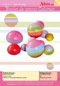 Boules de savons colorées
