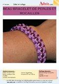 Bracelet perles & rocailles