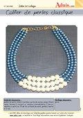 "Collier de perles ""classique"""