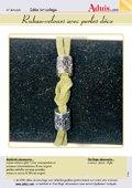 Ruban-velours avec perles déco