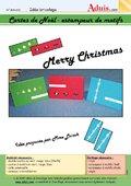 Cartes de Noël - Estampeur de motifs