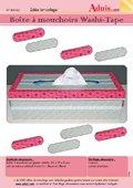 Boîte à mouchoirs Washi-Tape