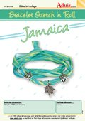 "Bracelet  Stretch 'n' Roll - ""Jamaica"""