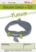 "Bracelet Stretch'n'Roll - ""Nature"""