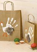 Sachets cadeaux pour Pâques