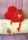 Cœur tricot tout doux