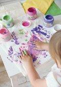Instructions de base - Peintures aux doigts
