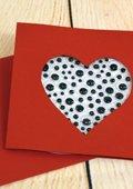Carte de la St Valentin