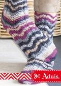 Socquettes avec motif vague