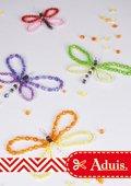 Insectes en perles multicolores