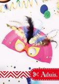 Masque de Carnaval - Oiseau du Paradis