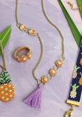 """Set bijoux """"Fruits exotiques"""""""