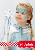Idée de maquillage - Princesse des neiges