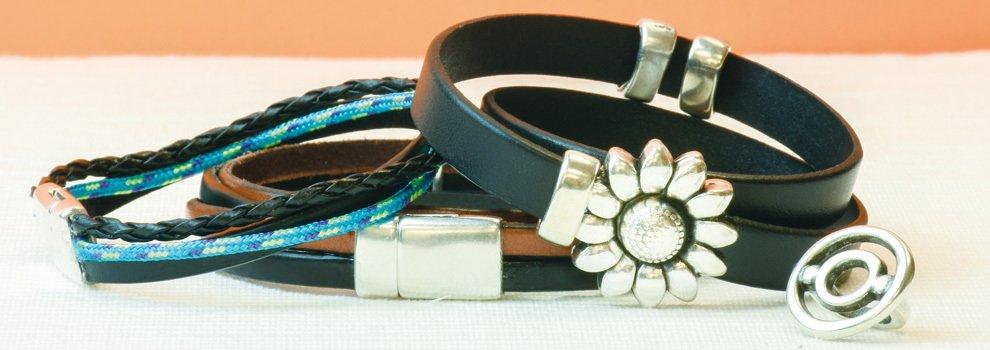Bracelet cuir - Femmes