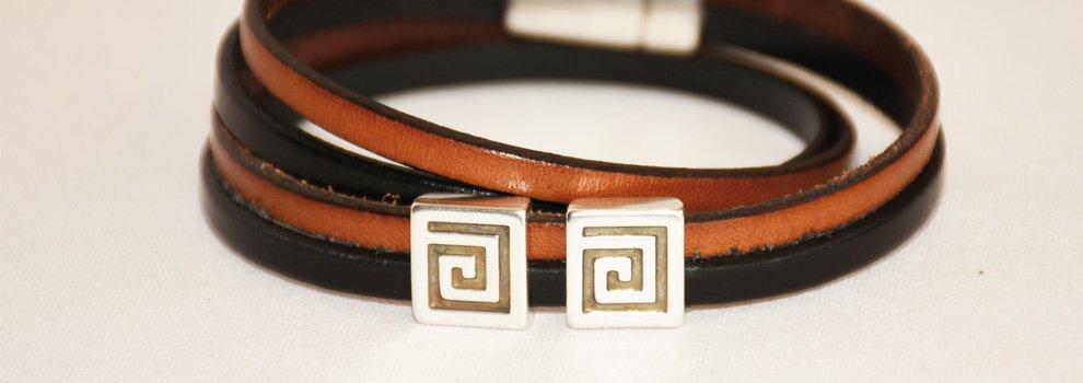 Bracelet cuir - Homme