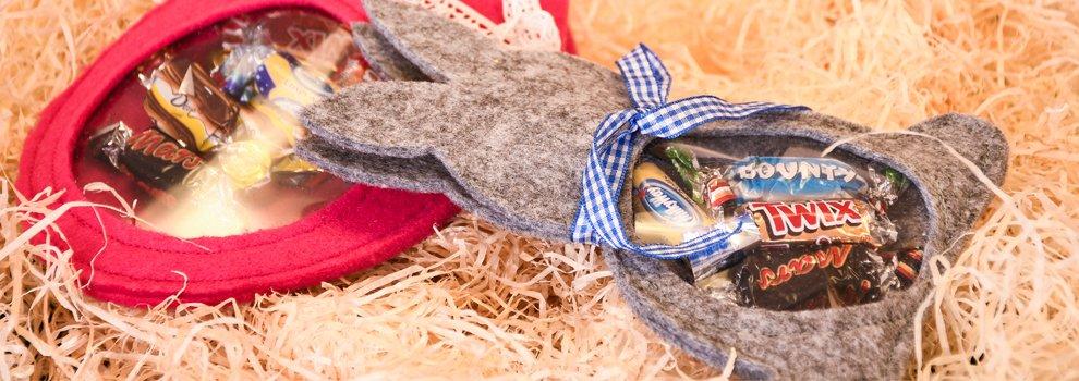 Cadeaux pour Pâques en feutrine