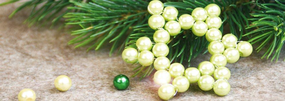 Etoile en perles