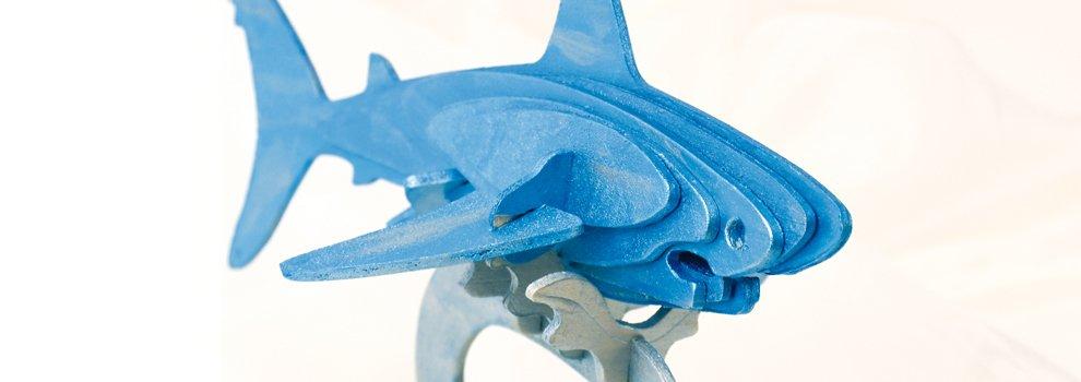 Requin Effet Métallic