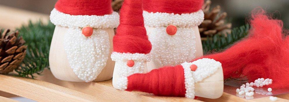 Trio de lutins - Ambiance de Noël