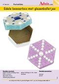Edele bewaarbox met glazenballetjes