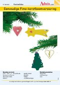 Eenvoudige Fimo-kerstboomversiering
