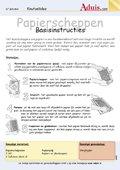 Papierscheppen basisinstructies
